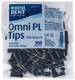 Omni PL Tips 30° D0,4mm G27 L13mm påse 100 st