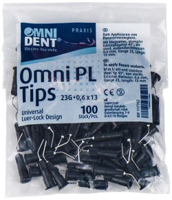 Omni PL Tips 45° D0,6mm G23 L13mm påse 100 st