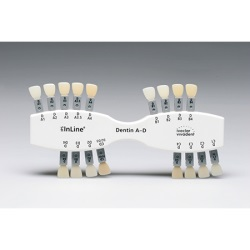 IPS InLine Shade guide Dentin A-D
