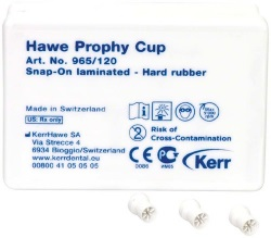 Prophy-Cups Gummi hård Snap-On 120st