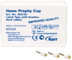 Prophy-Cups Gummi hård Nature Latch-Type 30st