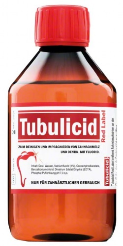 Tubulicid röd flaska 100ml