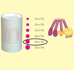 Bredent Wax Pattern Sticks 4,5x115mm 250gr