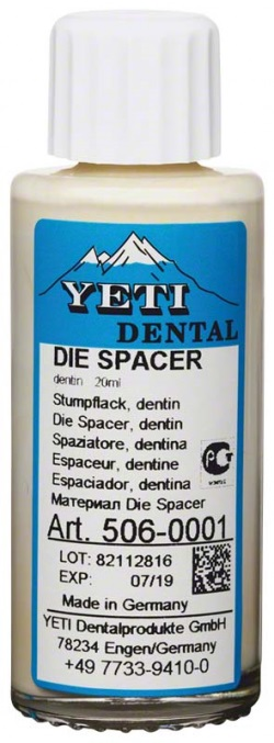 Yeti Die spacer dentin 20 ml (506-0001)