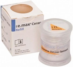 IPS e.max Ceram Int.ZirLiner brown, 5g