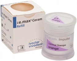 IPS e.max Ceram Cerv.Transpa orange, 20g
