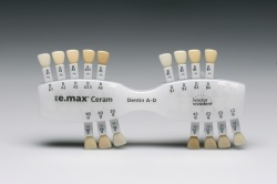 IPS e.max Ceram Dentin A-D Shade Guide