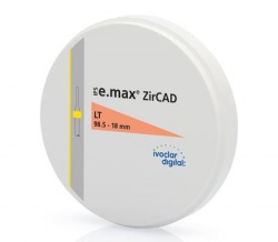 IPS e.max ZirCAD LT 1 98.5-18mm