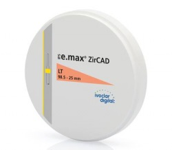 IPS e.max ZirCAD LT 1 98.5-25mm