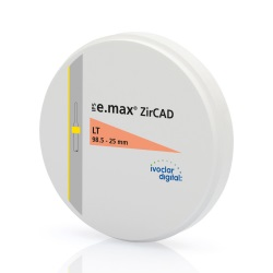 IPS e.max ZirCAD LT 2 98.5-25mm