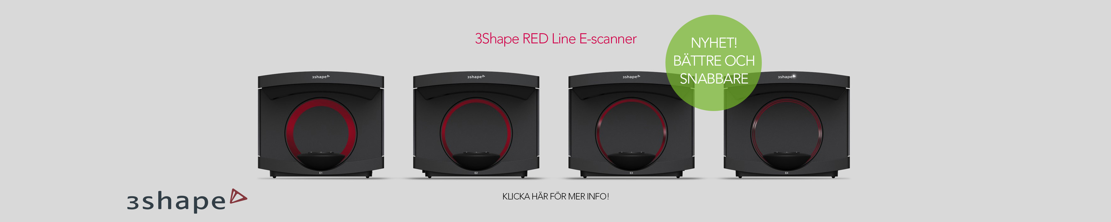 3Shape RED Line scanner